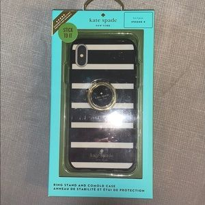Kate Spade phone case and ring stand